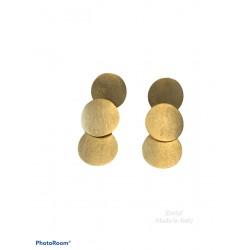 orecchini ottone galv.