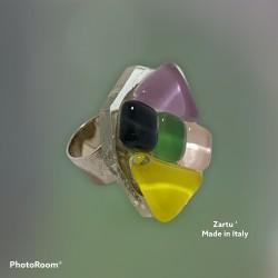 Anello mosaico vetro 2027